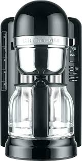 kitchen aide coffee pot cup maker onyx black front zoom clean indicator kitchenaid manual kcm1202ob 12