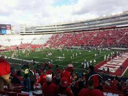 Wisconsin Camp Randall Seating Chart Camp Randall Stadium Section A Home Of Wisconsin Badgers