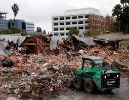 airport garden hotel san jose. Demolition Of The Old San Jose Airport Garden Hotel Continues Dec. 21, 2015,