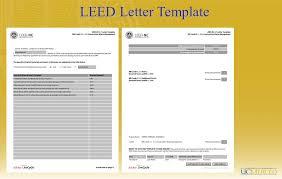 Leed Letter Template Exelent Leed Templates Photos Resume Ideas