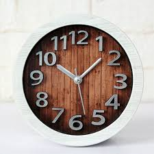 ouyun creative digital alarm clock wood high grade vintage desk clock for living room bedroom office clock desktop home watches in alarm clocks from home
