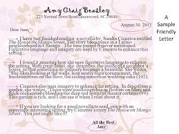 personal character sketch due friendly letter due  a sample friendly letter amy craig beasley 223 normal town road greenwood sc 29649