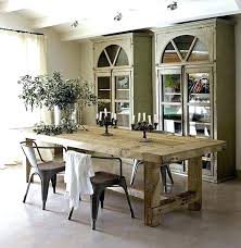 dining tables astounding rustic wood kitchen long room for table cape town reclaimed steel