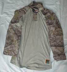 New Fr Combat Ensemble Shirt Desert Marpat Medium Regular