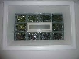 glass block basement windows designs