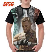 пресловутый конор макгрегор звери внутри футболки с округлым вырезом новинка 100
