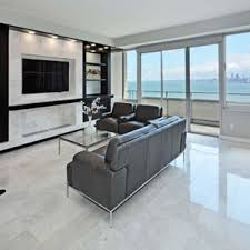 White floor tiles living room Ceramic Inspiration For Midsized Modern Open Concept Marble Floor And White Floor Living Room Houzz Floor Tiles Modern Living Room Houzz