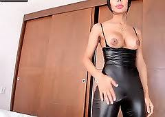 Latex Big Tits Fetish Shemale