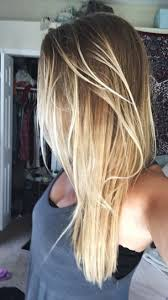 Light Brown Hair Ombre Blonde