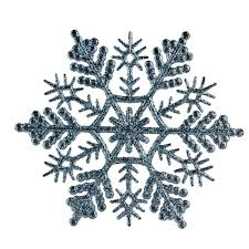 Christmas Snowflakes Pictures Northlight Baby Blue Glitter Snowflake Christmas Ornaments Pack Of 24