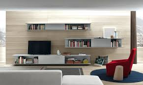 ... Cool Full Wall Storage Unit Living Room Storage Cabinets Floating  Shelves With Tv ...