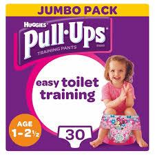 Huggies Pull Ups Day Time Girls 1 2 5 Years Potty Training
