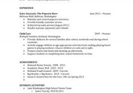 Resume Examples For College Students With No Work Experience Elegant ...