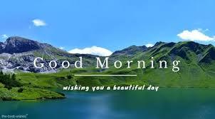 good morning nature scenery