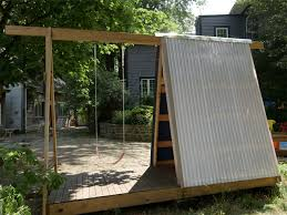 build your own outdoor fort kit designs