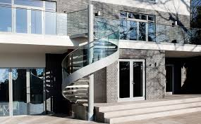 exterior spiral staircase reviews designdiary installing intended for design architecture exterior spiral staircase