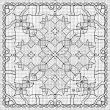 Blackwork Cross Stitch Charts Free Christmas Kaleidoscope Cross Stitch Patterns Free