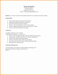 Collection Of Solutions Automotive Trainer Cover Letter In Civil