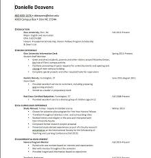 Baby Sitting Resume Cool How To Word Babysitting On A Resume Perfect Sample Resume For Child
