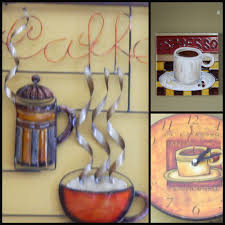 interior design awesome coffee themed kitchen decor interior specially brown exterior wall art