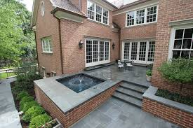 lake forest il spa with brick walls