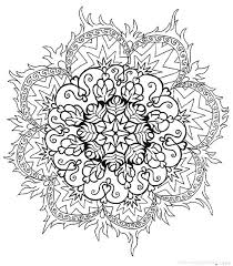 Free Flower Mandala Coloring Pages Flower Mandala Coloring Pages