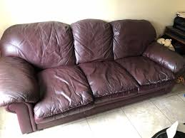 Extremely comfortable leather couch Furniture in Vista CA OfferUp