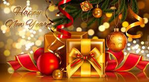 Świąteczna grafika z życzeniami noworocznymi