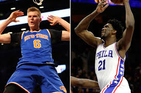 Porzingis vs. Embiid Unicorn battle on All Star Weekend New.