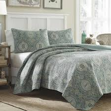 Tommy Bahama Bedding Turtle Cove Lagoon 136 Thread Count 100 ... & Turtle Cove Lagoon 136 Thread Count 100% Cotton Quilt Set Tommy Bahama  Bedding Adamdwight.com