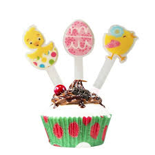 Cupcake Decorating Accessories Newly Lot Of 100 Easter Cupcake Topper Cupcake Decoration 92