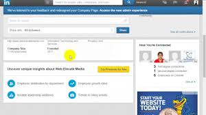Linkedin Company Business Page Creation Video Tutorial Tips