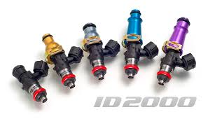 Toyota Injector Size Chart Id2000 Injectors Injector Dynamics