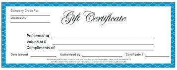 Gift Certificate Template Microsoft Word Interesting Business Gift Certificate Template Gradyjenkinsco