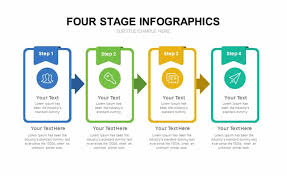 Infographic For Powerpoint Four Stage Infographic Template For Powerpoint Presentation