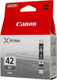 Купить <b>Картридж CANON CLI</b>-42GY, серый в интернет-магазине ...