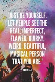 Be Yourself Quotes Inspiration Mandy Hale Be Yourself Quote