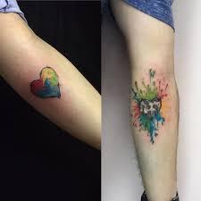 Tetování Srdce V Srdci Tetování Tattoo
