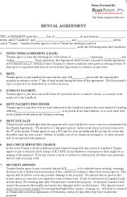 Blank Rental Lease Download Printable Blank Rental Lease Agreement For Free Tidytemplates