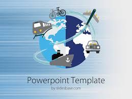 Worldwide Transport Powerpoint Template