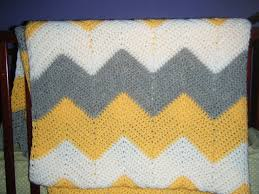 Double Crochet Chevron Pattern Interesting Chevron Afghan Yarn Over And Bake