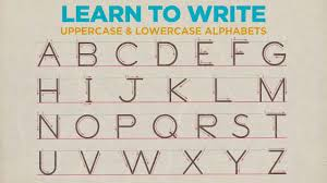 Writing strokes for nursery