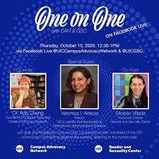 One on One | Gender and Sexuality Center | University of Illinois at Chicago