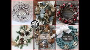 30+ Cute Rustic Christmas Wreaths Ideas - DIY Winter Door Decor ...