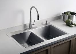 a dual mount kitchen sink can be mounted as a drop in sink or