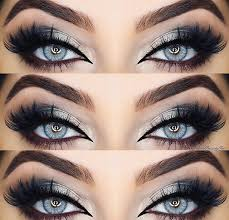 like what you see follow me for more uhairofficial black makeup for blue eyesblue