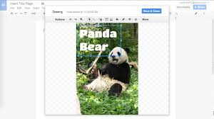 creating an image title page google docs creating an image title page google docs