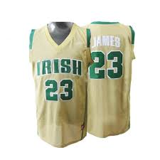 lebron high school jersey. nike lebron james high school jersey
