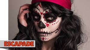 day of the dead makeup tutorial yousugar skull mexican day of the dead makeup tutorial you