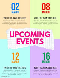Upcoming Events Flyer Upcoming Events Flyer Event Flyer Templates Event Flyers